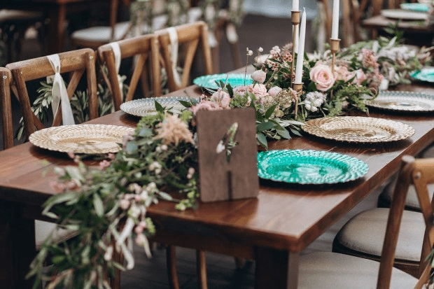 sustainable flowers for an eco wedding