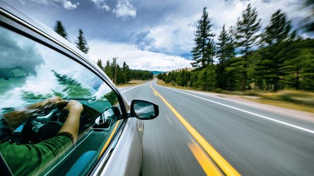 drive anytime car road EV
